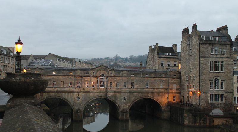 Pulteney Bridge, em Bath