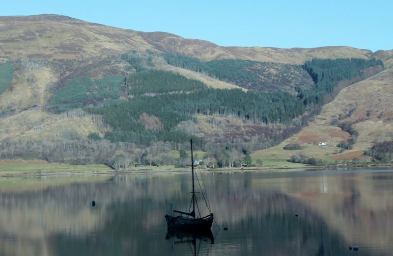 Paisagens das Highlands, na Escócia