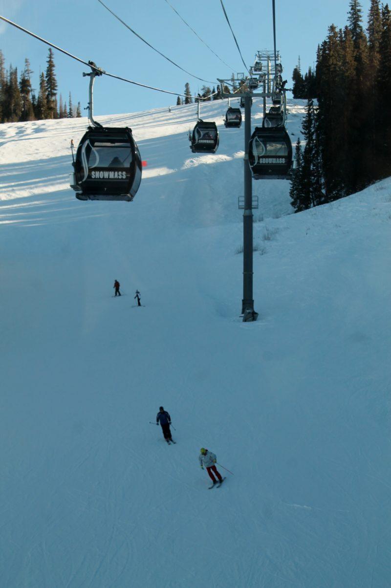 Gôndola em Snowmass, Aspen