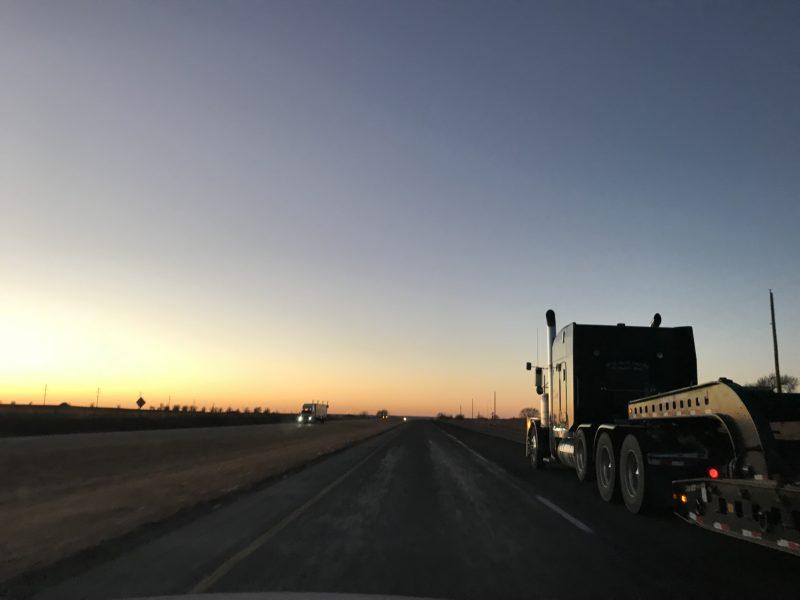 Estrada de Dallas para Amarillo