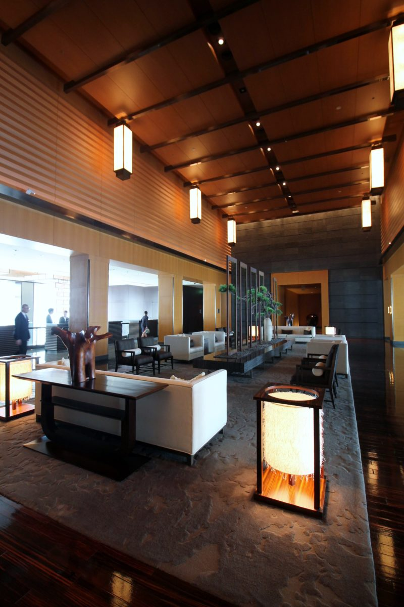Lobby do Mandarin Oriental, Tokyo