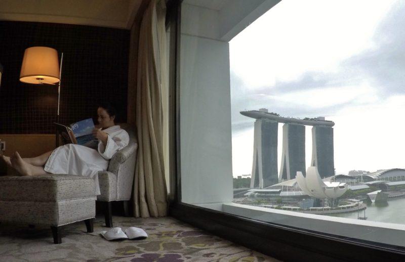 Marina Bay View Room, do Mandarin Oriental, Singapore
