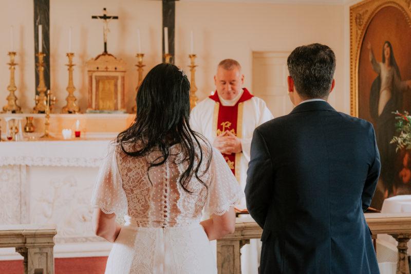 Elopement Wedding, Traquair House. Foto Ariana Declerck
