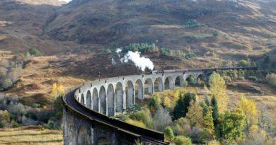 Glenfinnan Viaduct: o viaduto do Expresso Hogwarts de Harry Potter, na Escócia